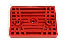 Кронштейн подушки рессоры передней (красный) MB Sprinter 96-06 (правый) (9013220184) Mercedes, фото 2