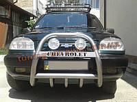 Кенгурятник высокий молотковый на Chevrolet Niva Bertone 2010+