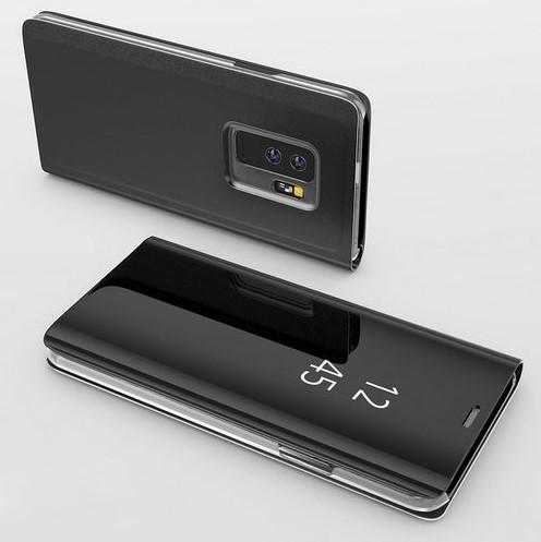 Чехол Книжка для Samsung A730 Galaxy A8 Plus 2018 с зеркальной поверхностью (Разные цвета)