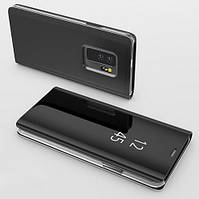 Чехол Книжка для Samsung A730 Galaxy A8 Plus 2018 с зеркальной поверхностью (4 Цвета)