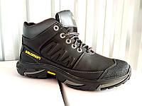 Кожаные зимние мужские ботинки SALOMON 40-45 р-р, фото 1