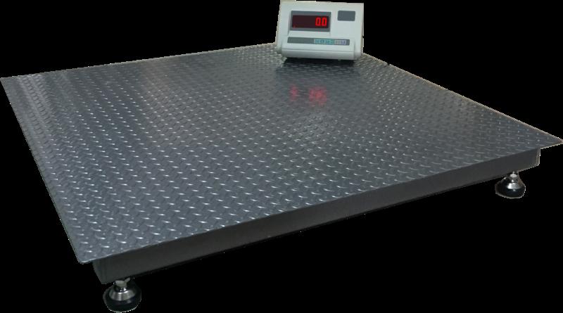 Платформенные электронные весы ВПД 800х800мм (1000кг)