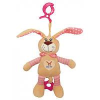 Подвеска на коляску и автокресло Alexis Baby Mix STK-17505P Розовый кролик
