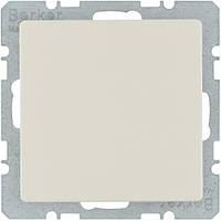 Заглушка без цоколя з центральною панеллю, білий, BERKER Q.x код 10096082