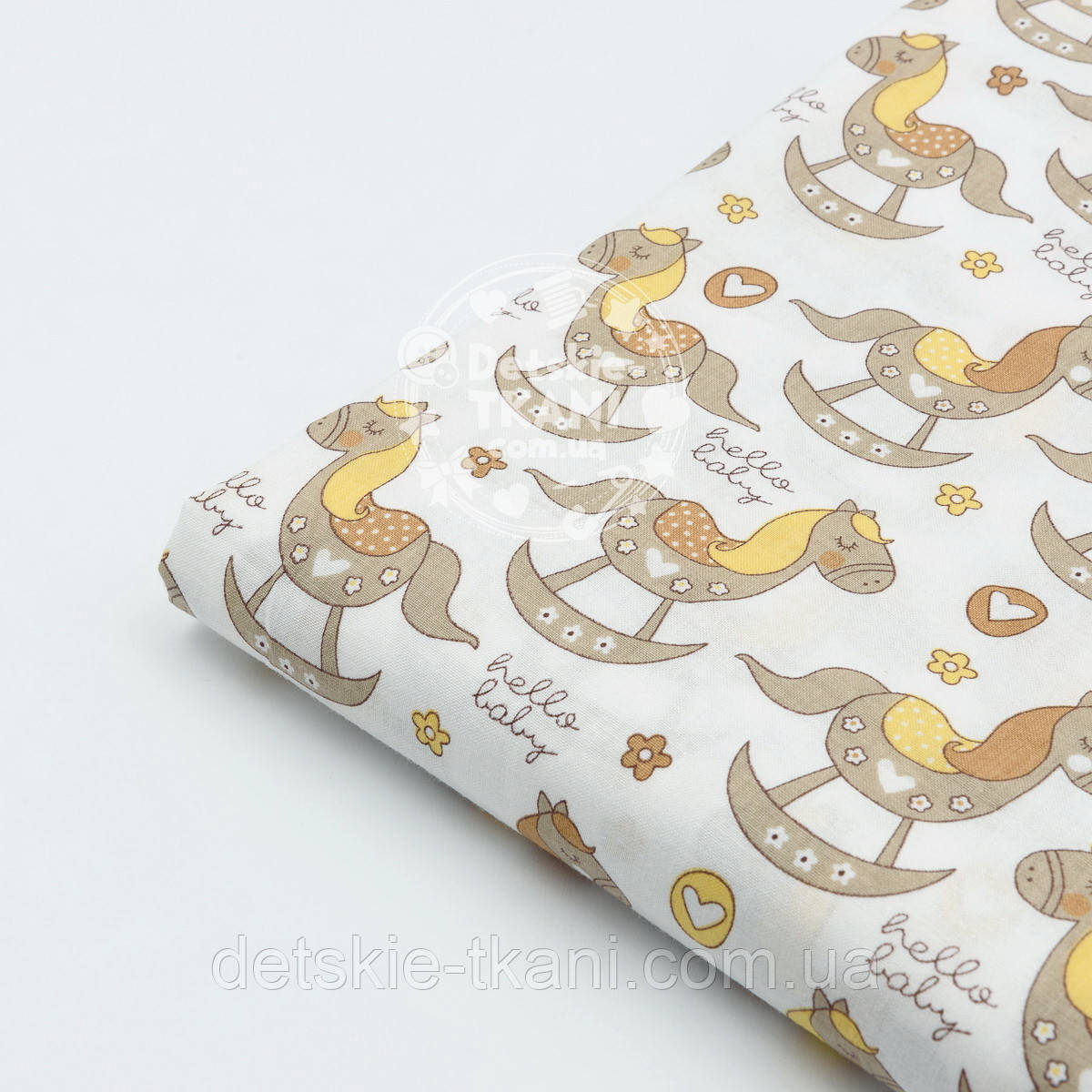 Лоскут ткани №739а размером 26*80 см