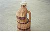 Бутылка плетеная на вино 0,5 литров ы 1 литра, фото 1