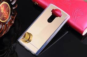Зеркальный силиконовый чехол для LG V10