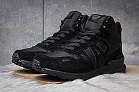 Зимние кроссовки на меху Armani Jeans, черные (30481),  [  41 42 43 44 45  ]