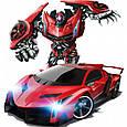 Машинка-трансформер Robot Car Lamborghini, машинка на пульте управления, Акция, фото 6
