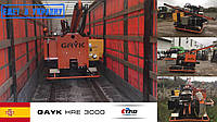 Ранок п'ятниці розпочалося з відвантаження двох сваебоев Gayk HRE 3000 в Україну.
