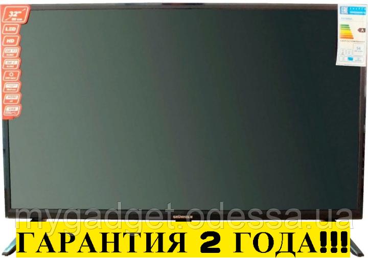 "Телевизор Grunhelm GTV32T2FS 32"" Smart TV/WiFi/DVB-T2/DVB-С 2 ГОДА ГАРАНТИЯ"