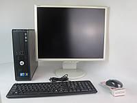 "Dell Optiplex 380 (780 ) 3.0GHZ 4GB RAM 160GB HDD + 21"" NEC 2170NX"