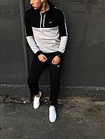 Зимний спортивный костюм Nike (Черно-Белый)