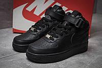 Кроссовки женские Nike  Air Force 07, черные (14381),  [  36 (последняя пара)  ], фото 1