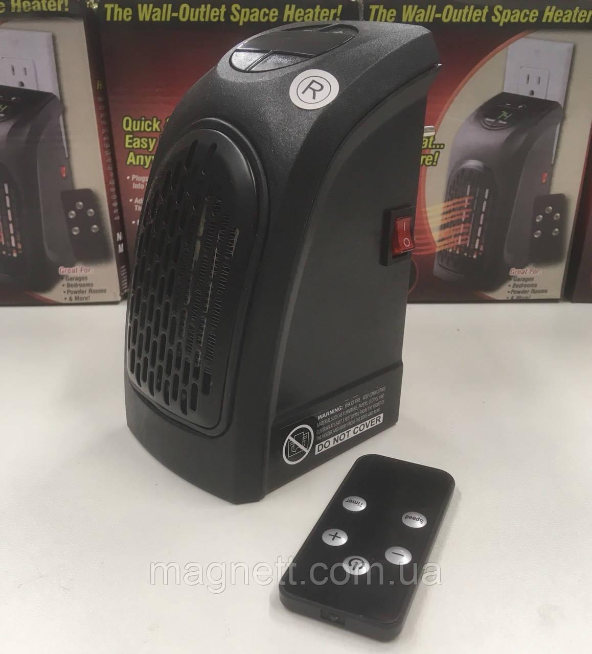 Портативный обогреватель Handy Heater с пультом- электрический обогреватель