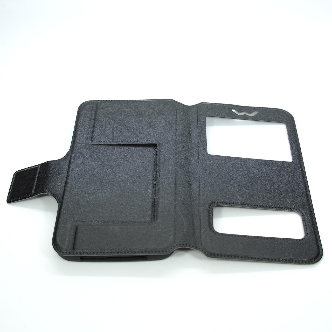 Чехлы для других смартфонов Universal Book Window 5.2-5.5 black
