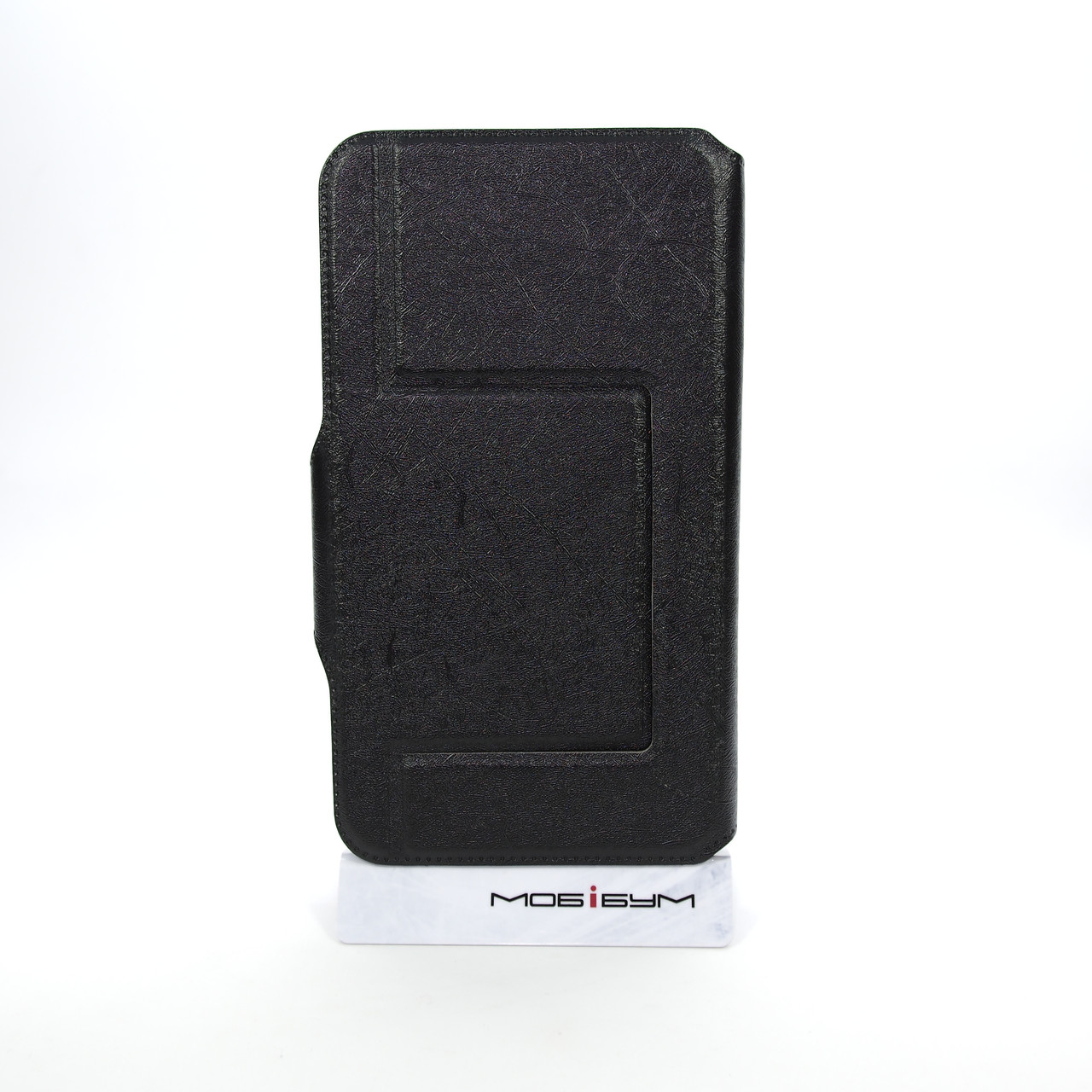 Чехол Universal Book Window 5.2-5.5 black Для телефона Черный