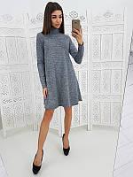 408ccdd7d99 Серое платье из трикотажа в Украине. Сравнить цены