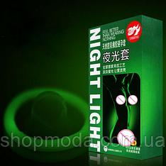Набор неоновых презервативов  Светящиеся + ультратонкие