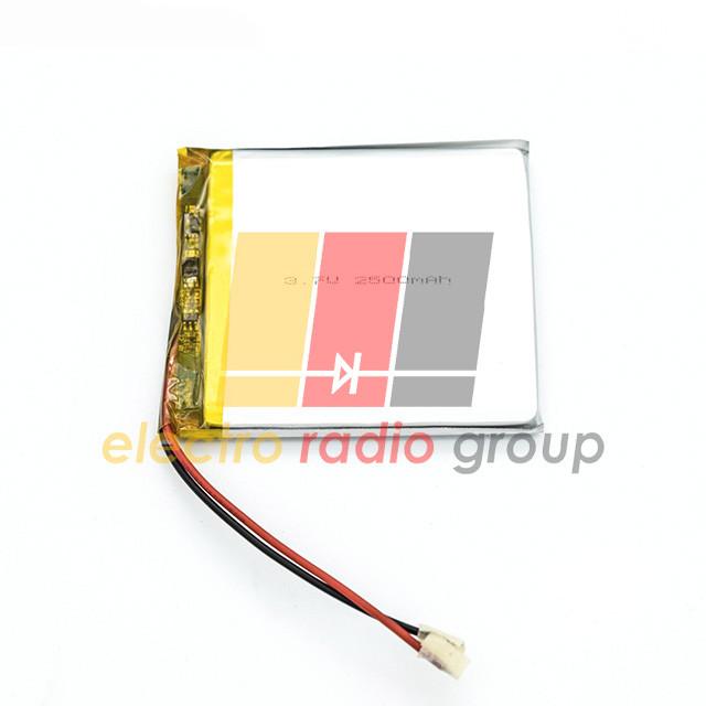 Литий-полимерный аккумулятор 3*60*70mm (2500mAh 3,7V