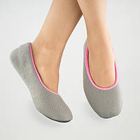 Тапочки балетки серо розовые размер 38-39_склад, фото 1