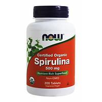 NOW - Spirulina 500mg (200 tabs) / Спирулина