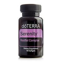 «Безтурботність», БАД, заспокійливий комплекс / dōTERRA Serenity™ Restful Complex Softgels, 60 капсул