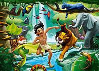 Пазлы ''Книга джунглей'' Castorland 120 midi элементов