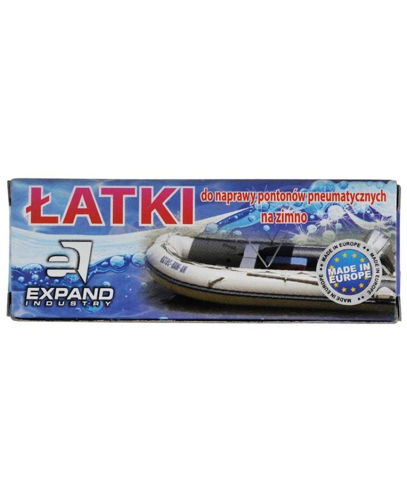 Комплект латок ремкомплект для надувных лодок Expand (A-PZ-0261)