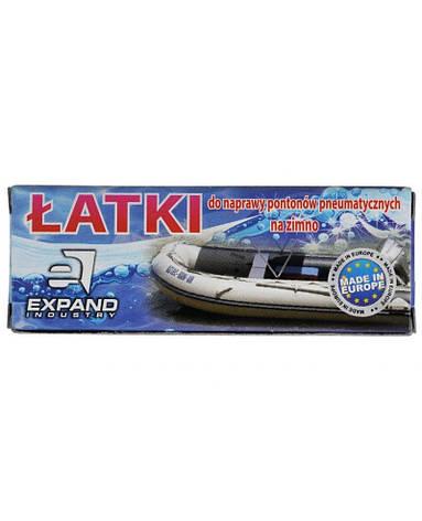 Комплект латок ремкомплект для надувных лодок Expand (A-PZ-0261), фото 2