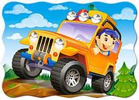 Пазлы ''Автопрогулка'' Castorland  30 элементов - для детей от 3 лет