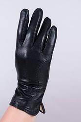 Женские перчатки из кожи