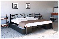 Металлическая кровать Вероника 80х190 см. Металл-Дизайн