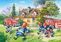 Пазлы Пожарная бригада, 40 maxi, Castorland В-040025