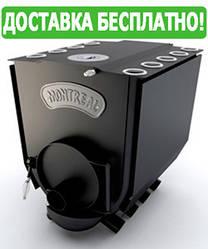 Печь Булерьян Новаслав Montreal с варочной поверхностью и комфоркой (19 кВт, до 500 куб.м)