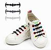Детские силиконовые шнурки Batman для обуви 10 шт