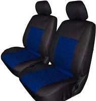 Авточехлы с подогревом Milex Arctic на передние сидения черно-синие