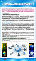 Стенд. Сучасні інформаційні технології. 0,6х1,0. Пластик