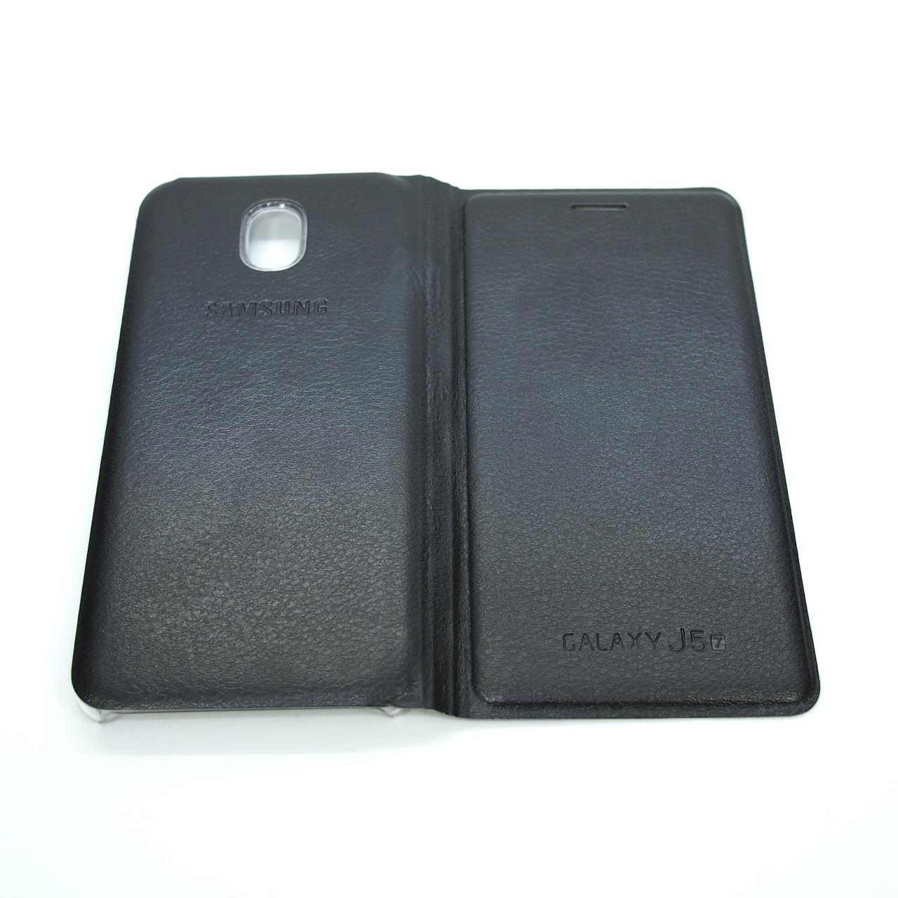 Чехол Book-case Samsung J530 black Galaxy J5 (J530) 2017 Для телефона