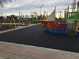 Покрытие для детской площадки 12