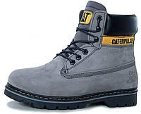 Женские зимние ботинки Caterpillar Colorado Winter Boots Grey Катерпиллер Колорадо серые с мехом