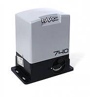 Автоматика для откатных ворот Faac 740 500кг интенсивностью использования 30%