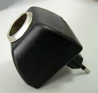 Преобразователь / Адаптер 220/12V  автомобильного прикуривателя 12V в сеть с питанием 220V.