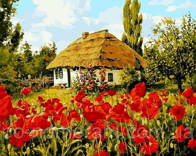 Украинский пейзаж большая картина