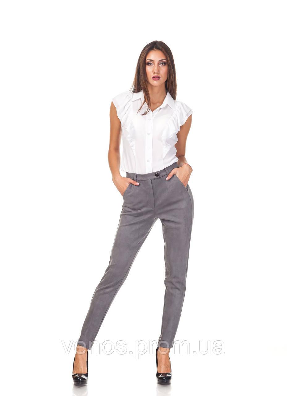 Классические зауженные женски брюки ЬР030