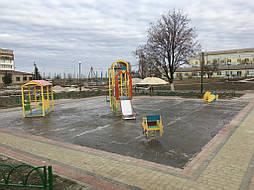 Бесшовное покрытие для детской площадки 1