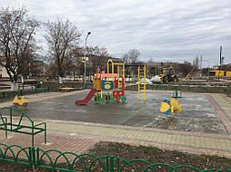 Бесшовное покрытие для детской площадки 2