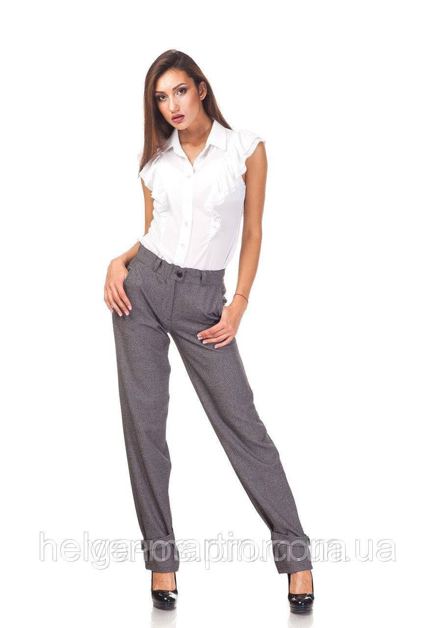 Женские брюки с хлястикми. БР028.