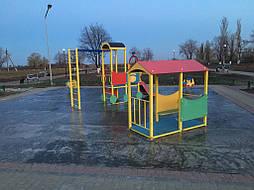 Бесшовное покрытие для детской площадки 3