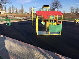 Бесшовное покрытие для детской площадки 7